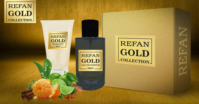 σετ REFAN GOLD COLLECTION MEN 214