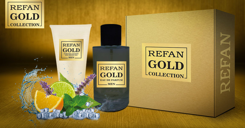 σετ REFAN GOLD COLLECTION MEN 407