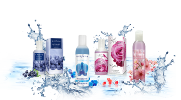 Shampoo and shower gels