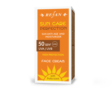 "ΚΡΕΜΑ ΠΡΟΣΩΠΟΥ SPF 50 UVA/ UVB  ""SUN CARE PERFECTION"""