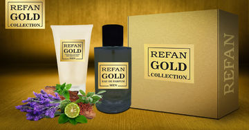 σετ REFAN GOLD COLLECTION MEN 203