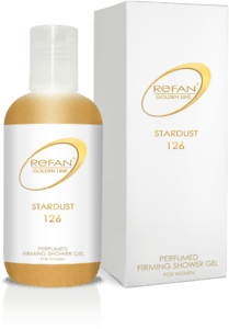 GOLDEN LINE STARDUST PERFUMED FIRMING SHOWER GEL  REFAN GOLDEN LINE STARDUST