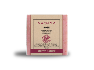 ROSE - STEP TO NATURE - AROMATHERAPY