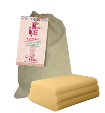 Queen Rose Bar soap